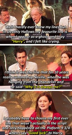 MuggleNet — hermiionegrangers: The Harry Potter cast and their...