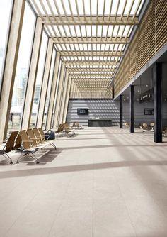 Office Building Architecture, University Architecture, Roof Architecture, Amazing Architecture, Building Design, Industrial Architecture, Atrium Design, Entrance Design, Roof Design