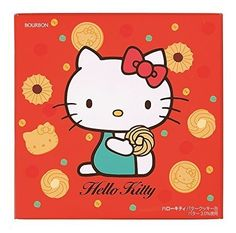 """Bourbon """"Hello Kitty Butter Cookie"""", 54 pc in a Cute Can"""