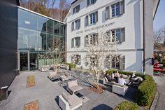 Offizielle Website – Bad Bubendorf Hotel Baselbiet Das Hotel, Restaurant, Street View, Mansions, Website, House Styles, Health, Food, Home Decor