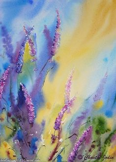Artwork >> Chantal Jodin >> colors lavender