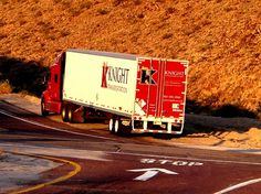 Knight Transportation semi truck