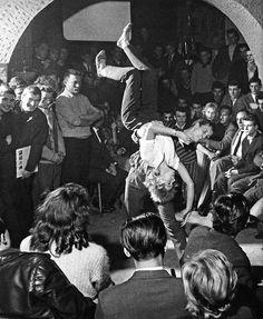 Dancing at the Eierschale, West Berlin, 1960