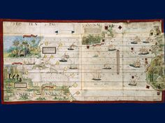 Miller Atlas - The new world - 1519 Source : Bnf
