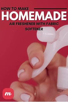 If you're like me, you've spent a lot of time looking for simple ways to be more organic. At the same time, you worry about how your house smells. I found great ways to make homemade air freshener using essential oils, and my house smells better than ever! You can learn how to make a spray or even how to create DIY dryer sheets so that your clothes smell fresher, too. Here are some tips to get you started. #DIY #Homemade #AirFreshner House Smell Good, House Smells, Diy Home Crafts, Diy Crafts Videos, Homemade Air Freshener, Fabric Softener, How To Make Homemade, Essential Oils, Diy Projects