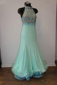 Mint Green Ballroom Dress