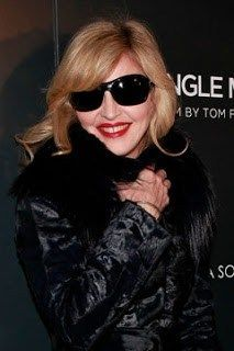 d7c86fa7d2 Madonna - even in oversized trademark shades she could never be incognito!