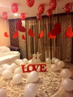 Romantic Room Decoration in Hyderabad. romantic decoration ideas from Quotemykaam catalogue. Customized packages for romantic surprises. Romantic Room Decoration, Wedding Room Decorations, Romantic Bedroom Decor, Valentines Day Decorations, Wedding Bedroom, Bedroom Ideas, Birthday Surprise Boyfriend, Valentines Gifts For Boyfriend, Valentines Diy