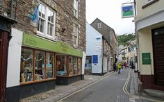 Fore St, Mevagissey, Cornwall.