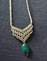 Resultado de imagen para macrame necklace