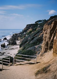 El Matador Beach, Malibu, by Kate Miss (5 THINGS: A Travel Guide to Los Angeles - Hither and Thither)