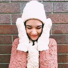 First Snow Mittens #Anthropologie #MyAnthroPhoto