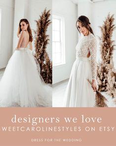 "Renee Skirt - 10"" Train - Chiffon … curated on LTK Colored Wedding Dresses, Tulle Wedding, Boho Wedding Dress, Designer Wedding Dresses, Bridal Separates, Bridal Gowns, Chiffon, Train, Bride Dresses"