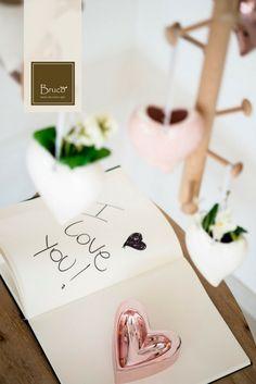 E' sempre bello ricevere messaggi scritti a mano. #brucostyle #italianstyle #iloveyou