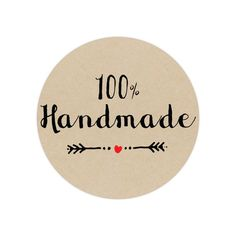 100% Handmade Stickers #handmade #customstickers