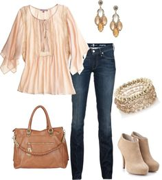 """""""Soft and feminine"""" by romigr99 on Polyvore"""