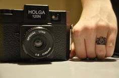 camera ring tattoo <3