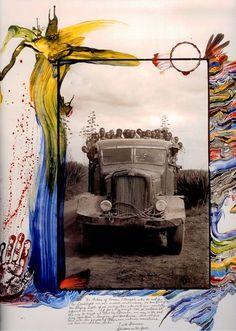 cristopherworthland: From the pages of Peter Beard's Kenyan diaries. Peter Beard, Artist Art, Artist At Work, Andy Warhol, Beard Art, New York City, Photo D Art, Photocollage, Famous Photographers