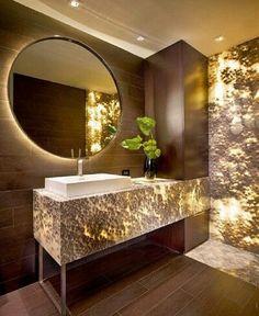 #luxurybathroom #powderbath #vanity