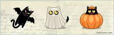Cat Halloween #icons by Iconka