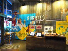 Burrito Mama Restaurant Interior