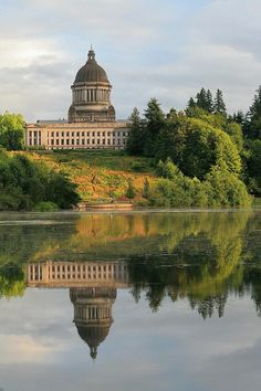 ✮ Washington State Capitol at Olympia