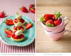 Strawberry Tartlets {Recipe}