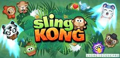 Sling Kong Mobile Video Game is an arcade game designed for iOS mobile platforms. This free game was developed by Protostar and was released on August Intellectual Games, Cute Monkey, Make Your Own Clothes, Some Games, Mini Games, Sandbox, Selfie, Cute Characters, Best Games