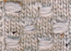 Nyppyneulos – neulo erilaisia nyppyjä   Punomo