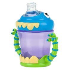 Feeding Cups, Dishes & Utensils Nuby 3-d Monster Snack Keeper Reliable Performance