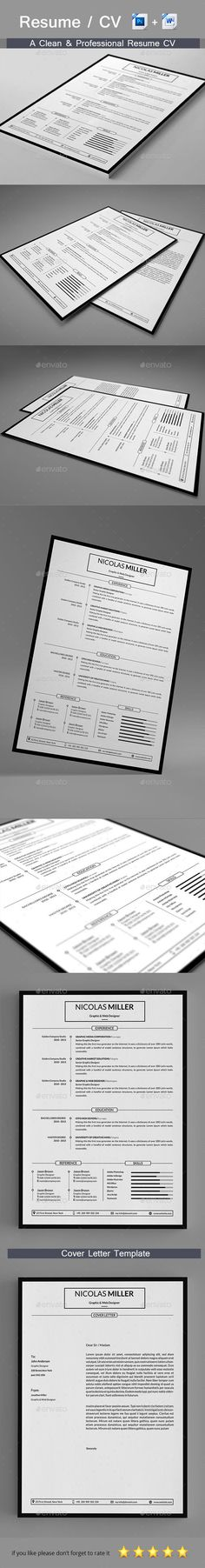 Linkedin Resume Template For Microsoft Word Office | Our Creative