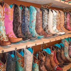 #Cowgirl Boots are always in a Texas girl's closet. Heels and boots!