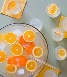 French 75 Punch recipe from Cocktails for a Crowd, by Kara Newman