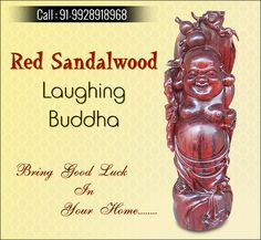 Buy Red Sandalwood Laughing Buddha And Bring Good Luck In Your Home Red Sanders, Good Luck, Handicraft, Laughing, Buddha, New Homes, Bring It On, India, Stuff To Buy