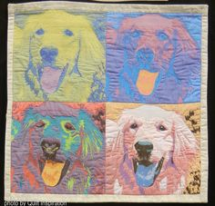 Andy Warhol: Christina Brown. Quilt Inspiration: World Painter's Challenge.  2016 AQS.