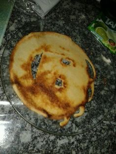the happiest pancake I ever met