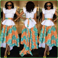 LOVE IT ~Latest African Fashion, African Prints, African fashion styles, African clothing, Nigerian style, Ghanaian fashion, African women dresses, African Bags, African shoes, Kitenge, Gele, Nigerian fashion, Ankara, Aso okè, Kenté, brocade. ~DK