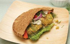Mayim Bialik's Big Bang Vegan Chickpea Burger Patty | One Green Planet