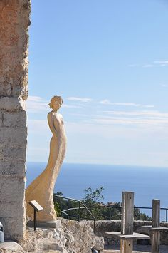 Èze is famous worldwide for the view of the sea from the top of its hill