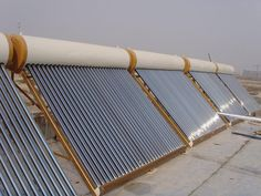 Solar water heater projects.  solar-waterheater.com