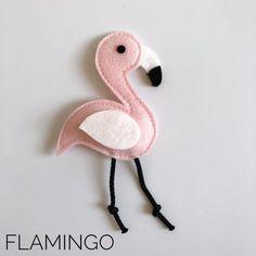 Mobiles, Felt Birds, Baby Rattle, Felt Diy, Baby Room, Flamingo, Hobbit, Baby Kids, Crochet Earrings