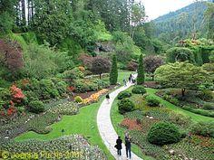 Butchart Gardens, Victoria, British Colombia