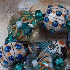 "Romana.Lampwork.Beads - ""Dreamy Summer Night"" in  | eBay!"