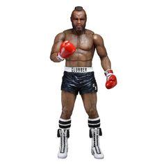 Figura Rocky. Clubber Lang (versión calzón negro), serie 3, 18cm, Neca