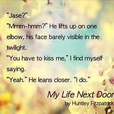 Resultado de imagen de my life next door quotes