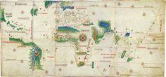 Cantino planisphere (1502) - Tratado de Tordesillas - Wikipedia, la enciclopedia libre