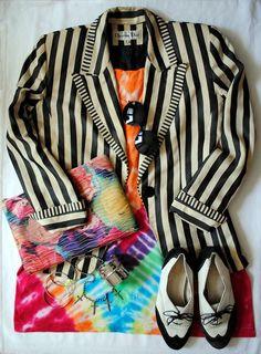 Image result for Vintage Christian Dior blazer outfit
