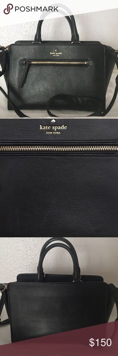 Kate Spade Selling my kate Spade North court. EUC. Used for about a year. Due to having kids there are a few scratches on the front. Not noticeable (see photos) this is not the original strap. My kids lost the strap and I've never found it. Replaced it with a strap from my coach bag.                    💥💥Reasonable offers accepted💥💥 please use the offer button. 😉🙂 kate spade Bags Crossbody Bags