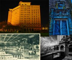 7 (more!) abandoned wonders of America, from pools and schools to super-sized hotels deserted over time.