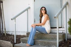 This simple outfit is perfect for every day wear!
